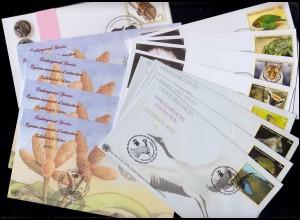 198 Gutenberg-Bibel 5x MeF Brief GÖGGINGEN über AUGSBURG 21.5.54