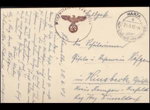 11. Kinderdorf-Ballonflug Gersthofen Bordstempel D-BERNINA, AK SSt Nagold 1.1.63