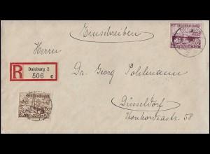 P 44 Postfachnummer, SSt Böblingen Kunstflugmeisterschaft & Flugzeug 2.9.1962