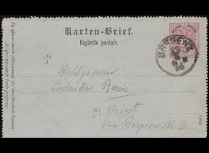 Gebühr-bezahlt-Stempel Eil-Brief MEINERSDORF (ERZGEB.) 1.11.1923 nach Amsterdam