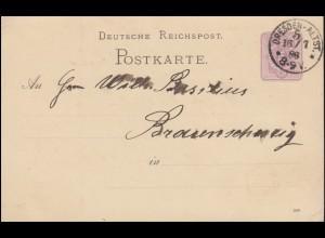 Dessau I-III Wiederaufbau, 3 Werte komplett, Satz auf 2. Spendenkarte 1.8.1946