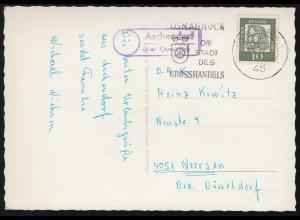Luxemburg Hitler-EF 8 Pf. Fensterbrief Mannesmannröhren LUXEMBURG 2 - 25.4.44