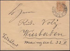 Zensurpost 5330 Dominikanische Republik Bf. Ciudad Trujillo 20.6.1944 in die USA