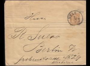 Luxemburg Hitler-EF 3 Pf. Orts-Drucksache Kraftfahrgewerbe LUXEMBURG 30.12.43