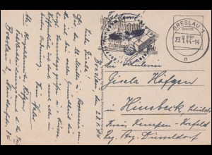 Zensur Censorship 18652 Brief 919 mit 12 Pf. Paar BADEL über SALZWEDEL 10.5.46