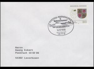 1661 Mecklenburg-Vorpommern, Bf SSt Rostock FS Mecklenburg-Vorpommern 14.12.1996