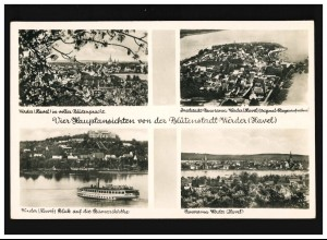 1941 Hochwasserhilfe Brandenburg, EF FDC ESSt Frankfurt/Oder Brücke 19.8.1997