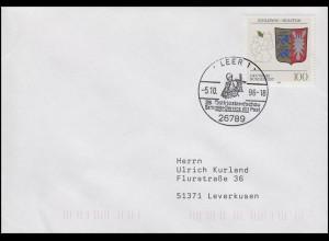 1715 Schleswig-Holstein EF Bf SSt Leer 28. Ostfrieslandschau & Händler 5.10.1996
