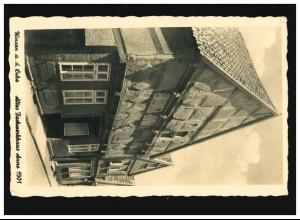 733 WHW Bauwerke EF auf Blanko-AK Markfraf Ludwig Wilhelm SSt MANNHEIM 25.2.1940
