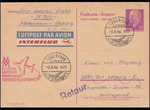 Bayern Briefvorderseite München Courier-Privat Stadtpost 1 1/2 Pf. 28.2.97