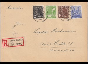 Russland Postkarte P 5 Wappen 3 Kop. aus KASAN 7.1.1884 nach RIGA 13.1.84