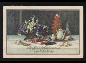 USA: Postkarte 2 Cent ultramarin BOSTON 20.9.1887 nach Nürnberg/Deutschland