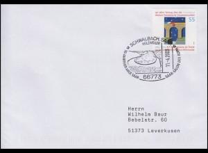 2311II Zusammenarbeit, EF Bf SSt Schwalbach Saarschleife & Saar-Salon 11.4.2003