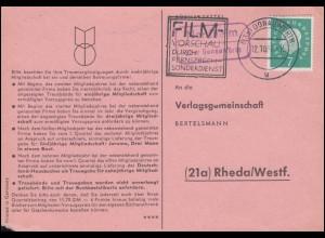 Schweiz 679-680 EUROPA / CEPT, Satz auf Schmuck-R-FDC ESSt BERN 22.6.1959