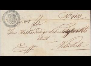 Österreich Vorphilatelie Zweizeiler KAADEN 16. Sept. nach Klösterle 16.9.1851