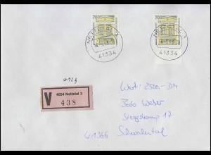PortoCard - PHILATELIA mit T'Card KölnMesse 1995 mit Sporthilfe 1777 und 1179 **