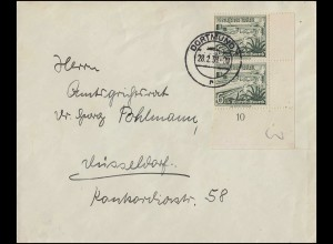 Block 11 Friedensnobelpreisträger - auf FIDACOS-Schmuck-FDC ESSt Bonn 14.11.1975
