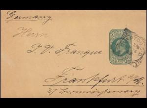Dienstmarke 110 Reichsadler mit D 114 auf Ortsbrief Amtsgericht ELBERFELD 3.2.28