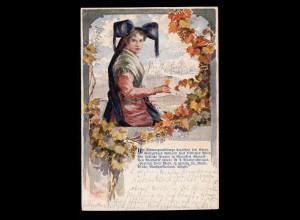 Niederlande Postkarte P 234 Niederländisch-Indien mit Aufdruck 5 auf 3 1/2 C. **