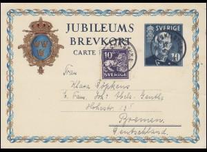 871 Friedensnobelpreis Gustav Stresemann MeF Brief Werbestempel MÜNCHEN 9.7.90