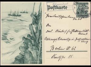 Währungsreform 36I Band 2 Pf Dreierstreifen MeF Drucksache OSTERRODE / HARZ 1948