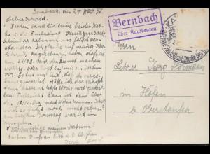 315ff Händel, Spohr, Haydn, Mendelssohn-Bartholdy ZD, Lp-R-Brief MÜNCHEN 11.9.59