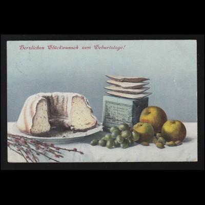 611 BuS 60 Pf. RE 1+4 mit 611 mit Nummer 005, auf Brief BERLIN 14.11.82