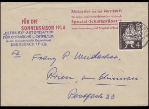 198 Gutenberg-Bibel EF Drucksache ULTRA-EX Lichtfilter STUTTGART 24.5.54