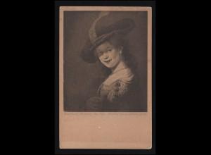 DEUTSCHE MARINE-SCHIFFSPOST No 69 - 28.2.1913 auf AK SMS Breslau
