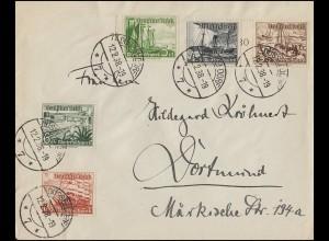 Olympia-Block 93 Fackelläufer vor Landkarte auf Schmuck-Brief Bukarest 13.8.1972