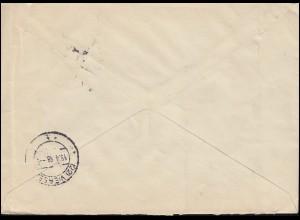 AK London Westminster Abbey, KENSINGTON W. 24.7.1899 nach CORBACH 28.7.99