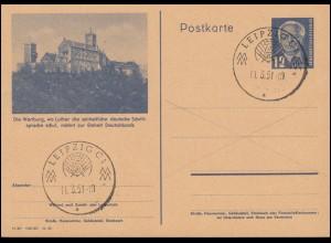 555 De Gasperi aus Block 4 auf Schmuck-FDC ESSt BONN Dr. Adenauer 19.4.1968