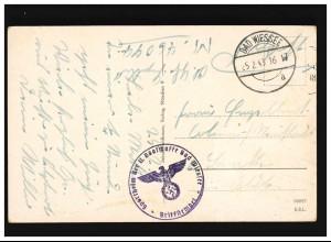 Hindenburg 12+30 Pf. MiF R-Brief NEUENKIRCHEN (OLDENBURG) 30.3.37 nach KÖRBECKE