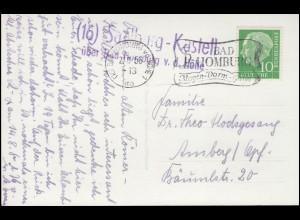 DEUTSCHE MARINE-SCHIFFSPOST No 83 - 30.1.1916 SMS Kaiserin auf Propaganda-AK