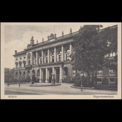 AK Berlin Abgeordnetenhaus, BERLIN-CHARLOTTENBURG 14.5.1930