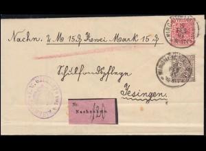 2225 SWK Heidelberger Schloss 510 Pf. / 2,14 Euro, EF auf R-FDC BONN 8.11.2001