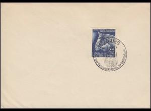 779 Das Blaue Band 1941 Blanko-Brief SSt HAMBURG Preis der Dreijährigen 22.6.41