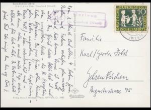 Feldpost BS Reserve-Lazarett St. Wendel Brief ST. WENDEL (SAAR) 10.2.1942