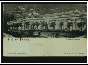 Feldpost Deutsche Dienstpost AMSTERDAM 26.11.40 nach RSHA in BERLIN 27.11.40