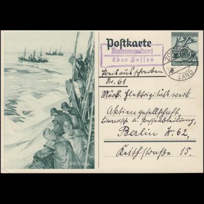 347y Albertus Magnus 4x 5 Pf. Paare als MeF auf Orts-Brief KARLSRUHE 26.1.63