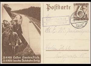 Zeppelinpost Luftschiff Graf Zeppelin Leipziger Messe Bf. FRIEDRICHHAFEN 30.8.36