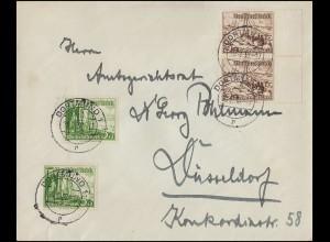 Ungarn Vorphilatelie Brief Oval-O PESTH 12.7.1833 mit 14 Kr. taxiert nach Steyr