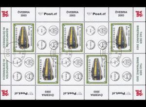 Österreich 2414 Tag der Briefmarke 2003, Kleinbogen Ersttagstempel WIEN 23.5.03