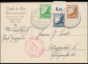 Sonderkarte 1. Mai 1947 Tag des Bekenntnisses 944ff 4 Werte SSt LEIPZIG 1.5.47