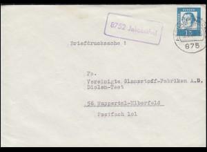 Sachsen 9II König Johann 1 Ngr EF Bf mit Nummer 15 ZITTAU 24.6.62 n. Friedeberg