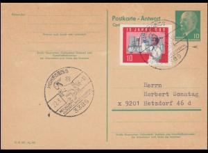 660-661 Machtergreifung Satz auf Orts-Brief SSt BERLIN Zum 30. Januar 1938