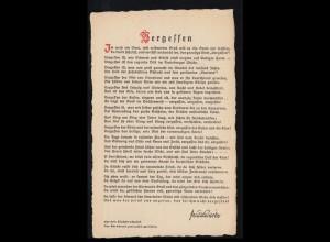 385-388 Wofa Schneewittchen 1962 Satz auf FIDACOS-FDC ESSt BONN 10.10.62