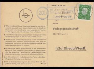 Sachsen 9II König Johann 1 Ngr EF Bf mit Nummer 1 DRESDEN 11.2.61 n.Altmittweida