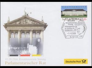 60 Jahre Sitzung Parlamentarischer Rat, SSt Bonn Adenauer & Grundgesetz 1.9.2008