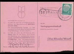 SSt HANAU Stadt des edlen Schmuckes 28.5.51, PK Hess. Bundesversicherungsanstalt